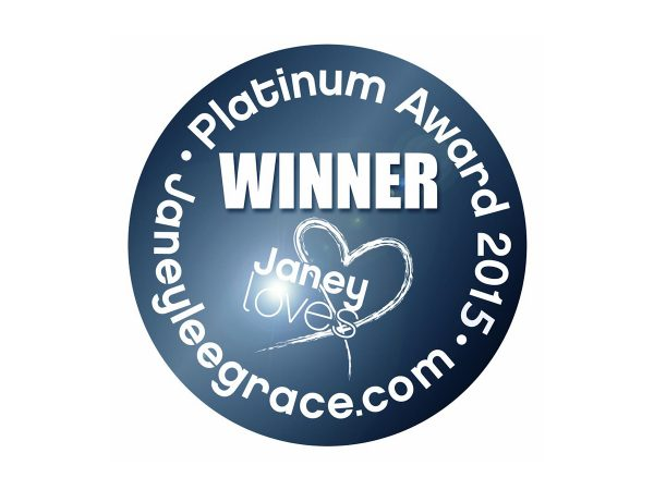 WINNER of Janey Loves 2015 Platinum Awards, Best EMF Protection