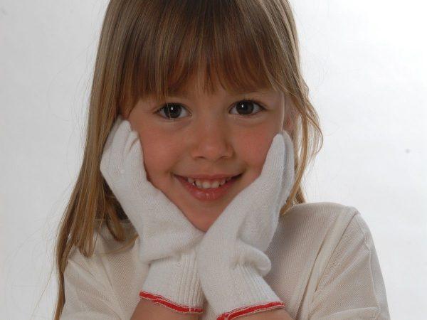 DermaSilk Child's Gloves