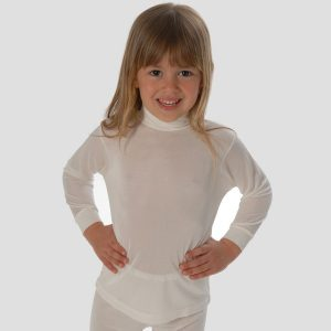 DermaSilk Child's Roll Neck Top