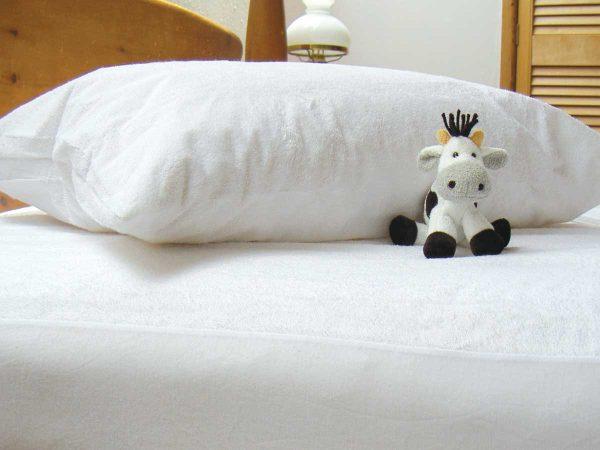 Cotton Terry Waterproof Pillow Case