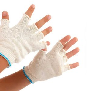 DermaSilk Child's Fingerless Gloves