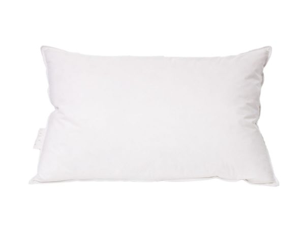 Duck feather and down high support pillow