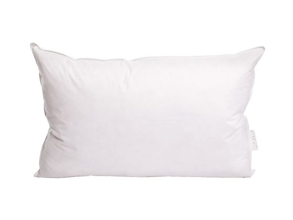 Dust Mite Proof Goose Feather and Down Pillow High Support