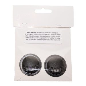 Replacement Valves for Honeycomb Sports Masks (2 pack)