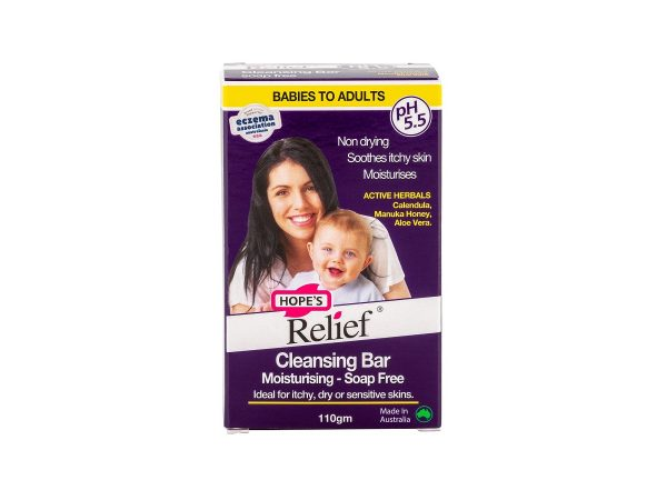 Hope's Relief Soap Free Cleansing Bar - 110g