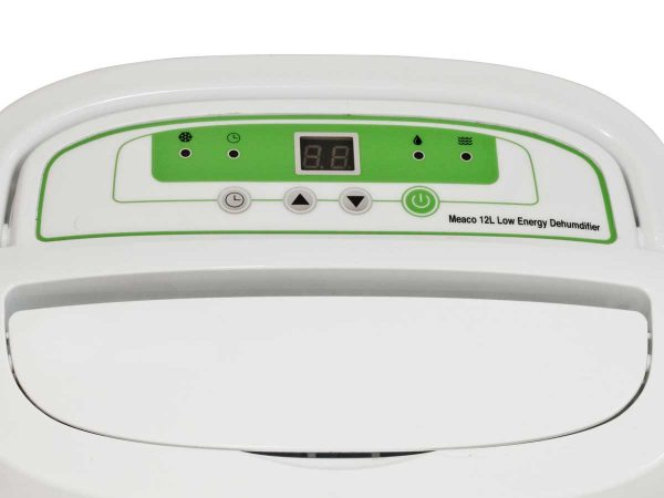 Meaco Platinum 12L Dehumidifier control panel