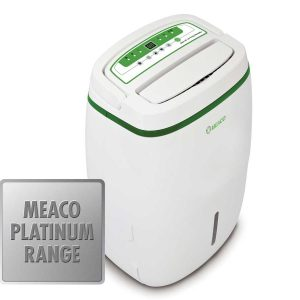 Meaco Platinum 20L Dehumidifier angled view