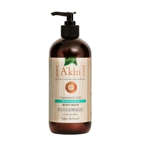 A'kin Unscented Body Wash - 500ml