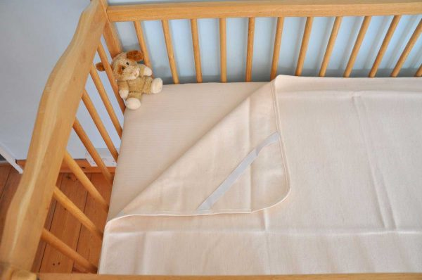 Organic Cotton Cot and Cot Bed Mattress Protector
