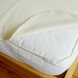 Organic Cotton Flannelette Mattress Protector
