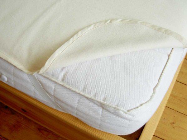 Organic Cotton Flannelette Mattress Protector