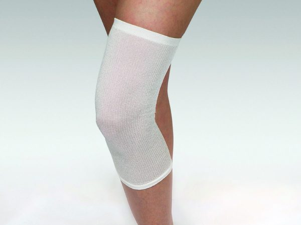 DermaSilk Knitted Silk Tubular Sleeve for elbows and knees