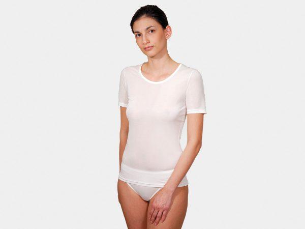 DermaSilk Ladies Round Neck T-Shirt