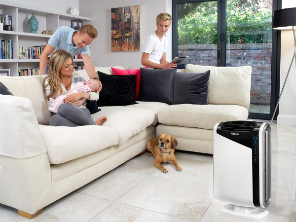 Fellowes® AeraMax DX95 in living area