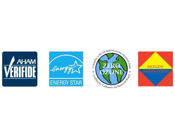 Blueair air purifier accreditations