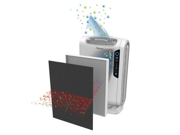 Fellowes® AeraMax Baby DB55 Air Purifier Illustration