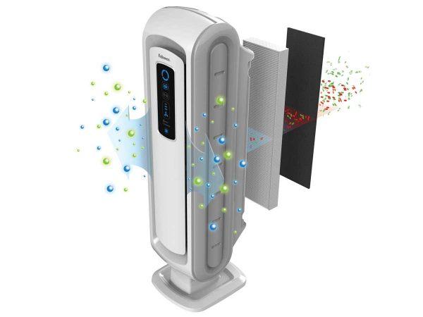 Fellowes® AeraMax Baby DB5 Air Purifier filter illustration