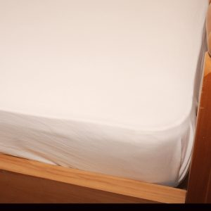 Organic Cotton Jersey Fitted Sheet