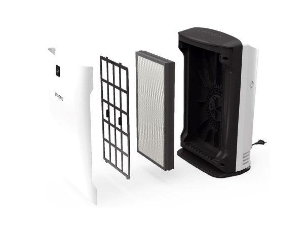 Boneco P340 showing filters