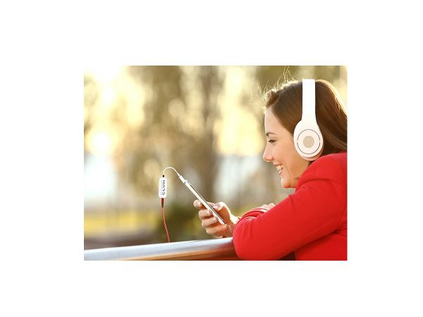 Cool Call with earphones