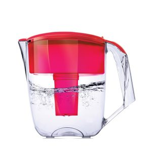 Ecosoft Maxima Pitcher Filter Jug - Red
