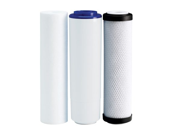 Ecosoft pack of replacement filters for 3-stage filter