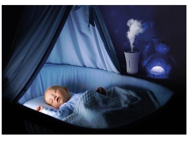 Boneco U50 Personal Humidifier in child's bedroom