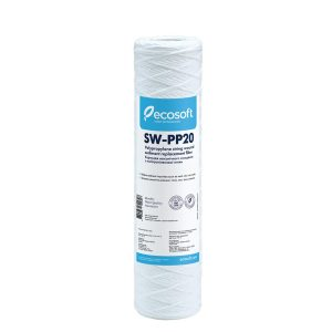 "Ecosoft 2.5"" x 10"" String Wound Filter - 20 Micron"