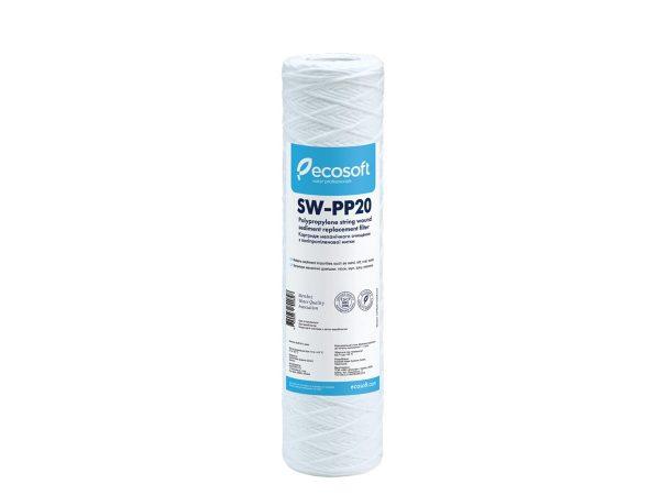 "Ecosoft 2.5"" x 10"" String Wound Filter - 20 Micron"