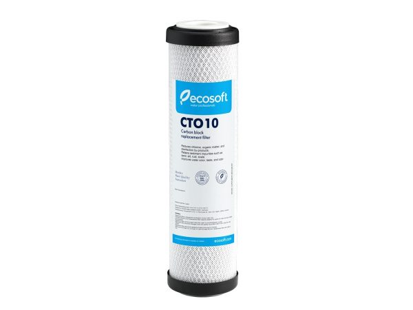 "Ecosoft 2.5"" x 10"" Carbon Block - 10 Micron"