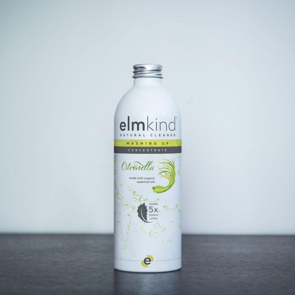 elmkind washing up liquid citronella concentrate