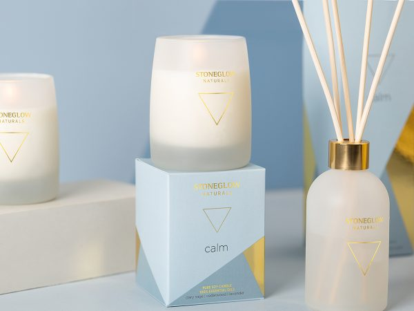stoneglow calm candles reed diffuser