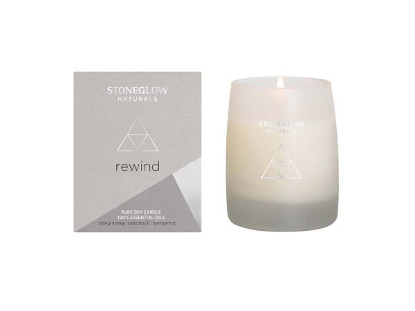stoneglow rewind soy candle